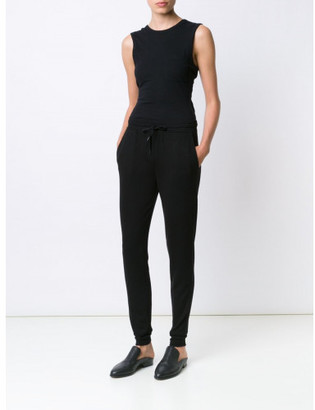 T By Alexander Wang open back twist tank top $140 thestylecure.com