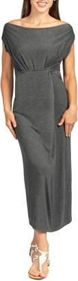 Savi Mom Hana Maxi Maternity/Nursing Dress