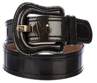 Fendi Leather Waist Belt