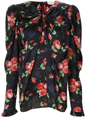 Magda Butrym Caserta floral print blouse