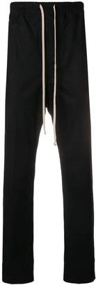 Rick Owens drawstring straight-leg trousers
