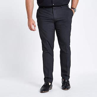 River Island Big and Tall grey skinny smart pants