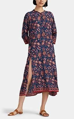 Natalie Martin Women's Isobel Floral-Tapestry Maxi Dress