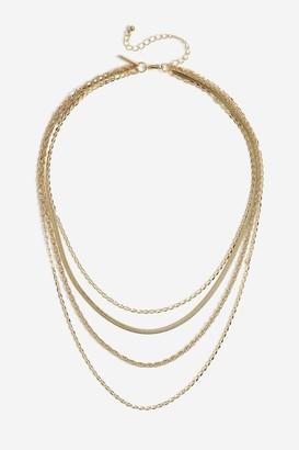 Topshop Mix Chain Multiple Necklace