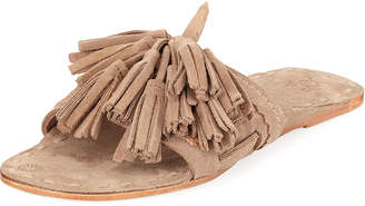 Figue Noona Slide Sandal with Tassels