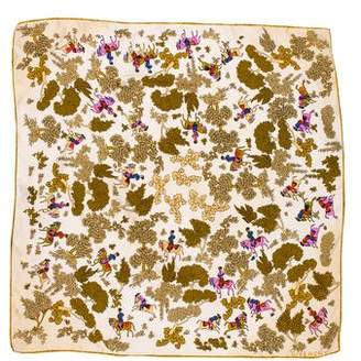 Givenchy Printed Silk Scarf