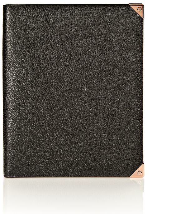 Rosegold Prisma Ipad Case In Black Pebble With