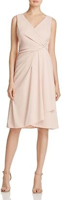 DKNY Draped Jersey Dress $139 thestylecure.com