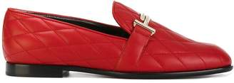 Tod's Double T quilted loafers