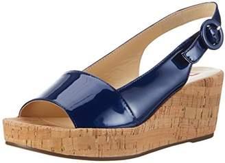 b853d118adcf Blue Wedge Heel Sandals For Women - ShopStyle UK