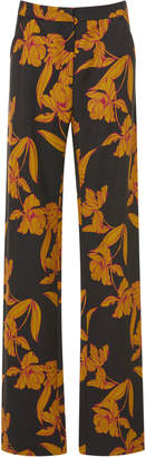 A.L.C. Vaughn Printed Wool-Blend Pants