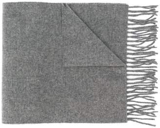 Vivienne Westwood fringed logo scarf