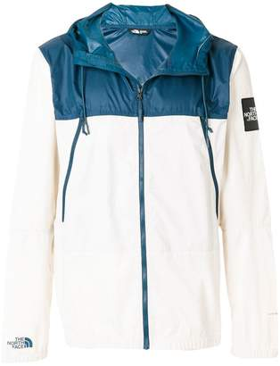 The North Face contrast zipped jacket