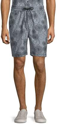 Publish Men's Deacon Printed Cotton Shorts