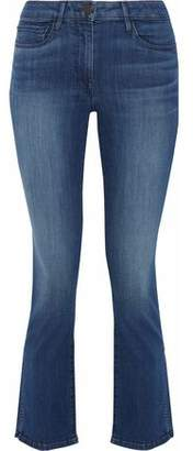 3x1 Stanley Faded Mid-Rise Kick-Flare Jeans
