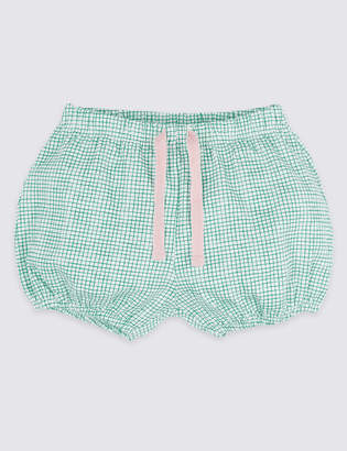 Marks and Spencer Pure Cotton Jersey Shorts