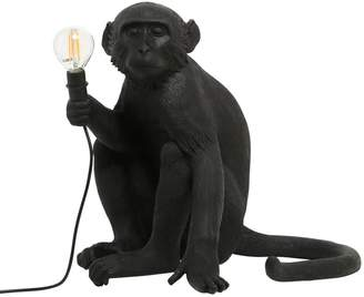 Seletti Sitting Monkey Lamp