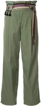Kolor high waisted trousers