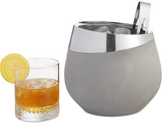Nambe Forte Collection 2-Pc. Ice Bucket & Tongs Set