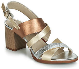 Dorking 7796 women's Sandals in Silver