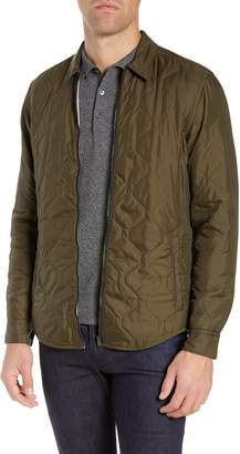 BOSS Landolfo Regular Fit Quilted Shirt Jacket