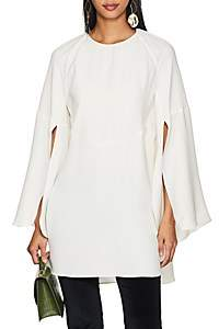 Derek Lam Women's Silk Crepe Blouse - White
