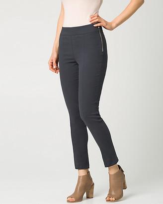 Le Château Cotton Twill Slim Leg Crop Pant