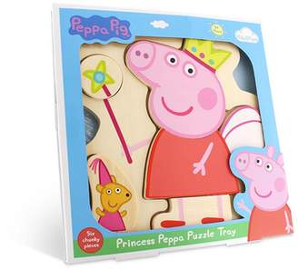 Peppa Pig Wooden Puzzle Tray