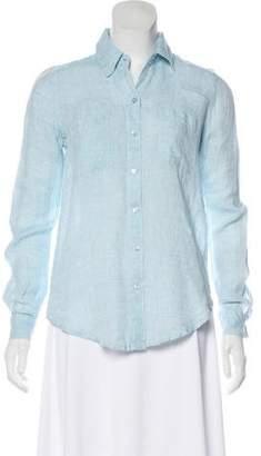 Calypso Long Sleeve Linen Top