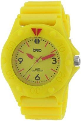 Breo ユニセックス圧力イエローWatch b-ti-prs6