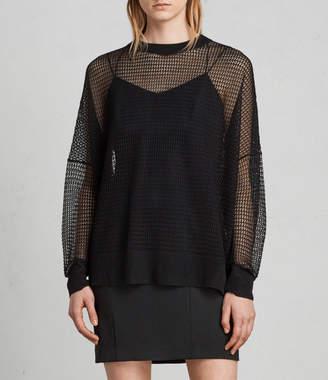 AllSaints Rizo Crew Sweater