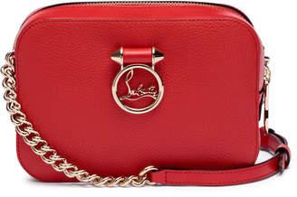 Christian Louboutin Rubylou mini red leather bag
