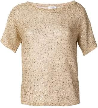 Snobby Sheep sequin short sleeve sweater