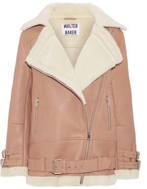 Walter W118 By Baker Adele Shearling Biker Jacket