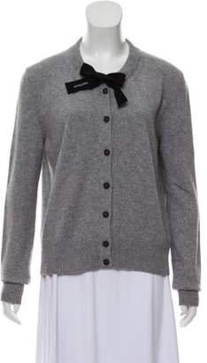 Altuzarra Lambswool-Blend Knit Cardigan Grey Lambswool-Blend Knit Cardigan