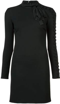 RED Valentino buttoned-sleeve mini dress
