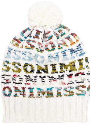 Missoni Pom Top Logo Hat