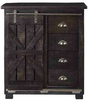 Laurel Foundry Modern Farmhouse Daub 4 Drawer 1 Sliding Door Cabinet