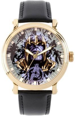 Marvel Avengers Endgame Men's Leather Watch
