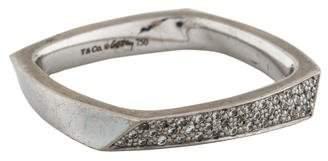 Tiffany & Co. 18K Diamond Torque Band