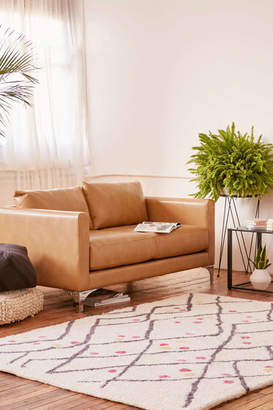 Chamberlin Recycled Leather Love Seat