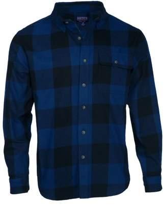 Buffalo David Bitton Smith's Workwear Men's Long Sleeve Plaid One Pocket Flannel Button Up Shirt