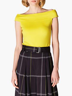 265144339e Karen Millen Shortsleeve Tops For Women - ShopStyle UK