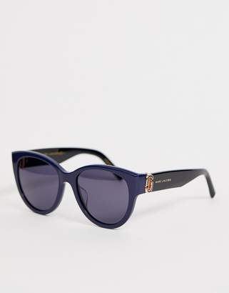 Marc Jacobs cat eye sunglasses in navy