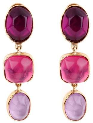 Goossens Paris Rock Crystal Earrings