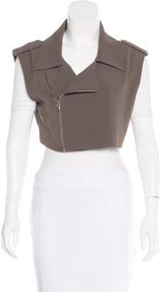 Moto Alasdair Cropped Vest