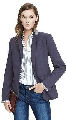 Navy Lightweight Wool Blazer $198 thestylecure.com