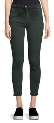 J Brand Alana Cropped Distressed Jeans