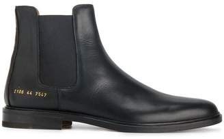 Common Projects black classic Chelsea boots