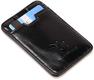 Vicenzo Leather Montay Leather Credit Card Holder